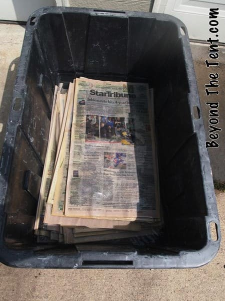 Wet Newspapers