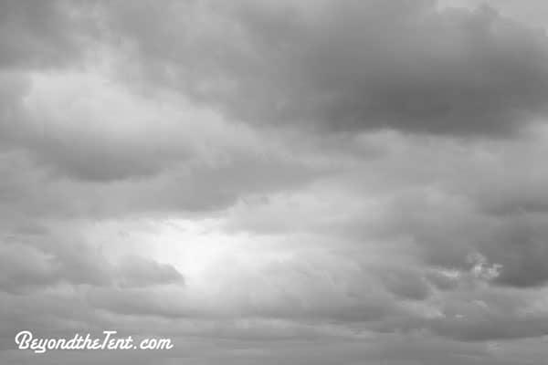 grey-sun-cloud-sky-rain-weather-beyond-the-tent-camping-blog