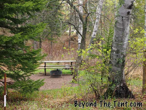 Gooseberry Falls State campground review mn