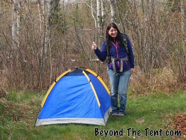 mini tent for small campers