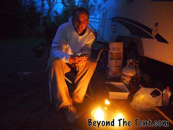 how to stay safe camp fire beyond the tent blog