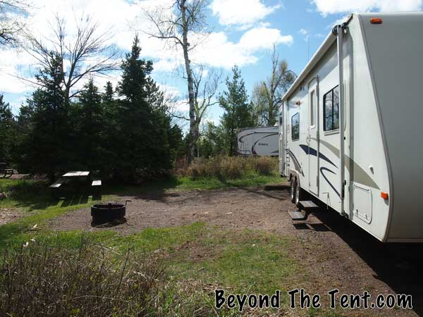 Gooseberry Falls campground MN review