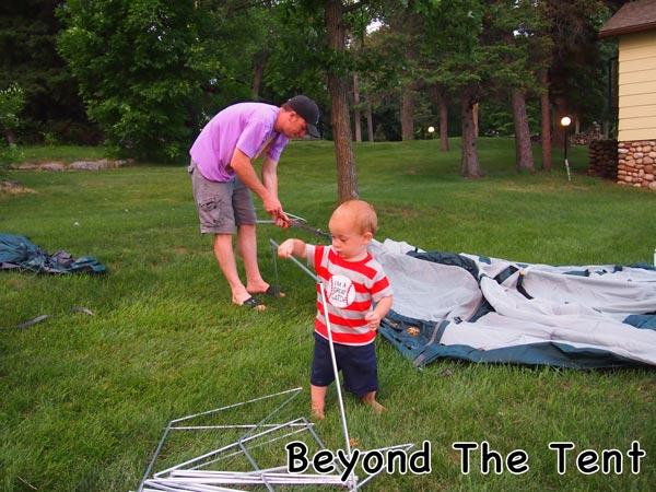 Getting Help Setting Up Cabelas Alaskan Guide Tent