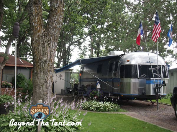 campground rental mn