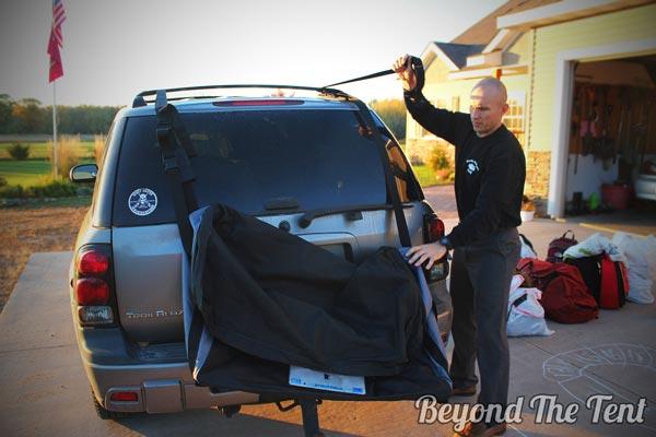 Attaching Cargo Bag
