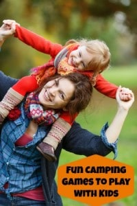Fun Camping Games To Play With Kids