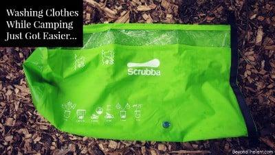 Washing Clothes While Camping – Scrubba Wash Bag 27
