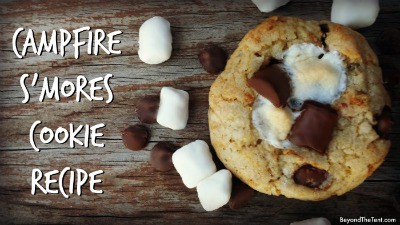 Campfire S'mores Cookie Recipe 28