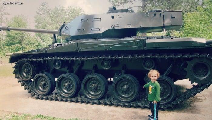 Victory Memorial bunker hills kids