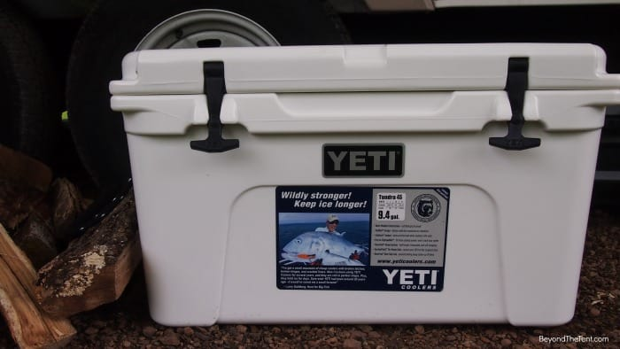 Yetti Cooler camping review mn beyondthetent twin cities live gear 2014.jpg