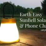 Earth Easy SunBell Solar Light & Phone Charger