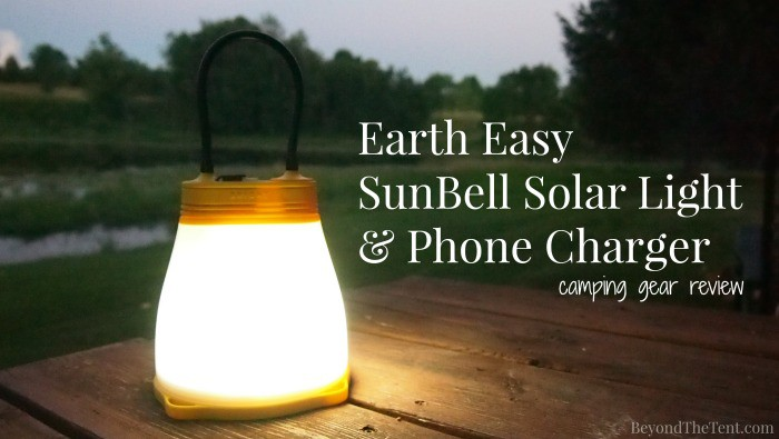 SunBell Solar Light & Phone Charger 24