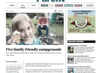 mn parent beyond the tent 5 family friendly campgrounds review blog