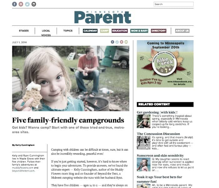 Top 5 Family Friendly Campgrounds – MN Parent 6