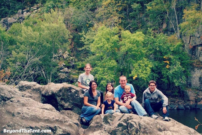 places to go see fall colors hike family day trip taylors falls mn review