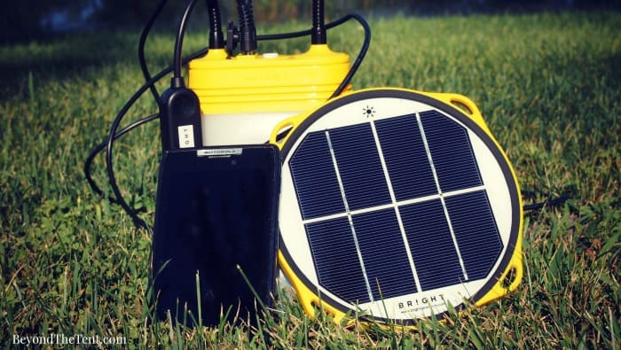 solar camping gear review beyond the tent mn blog