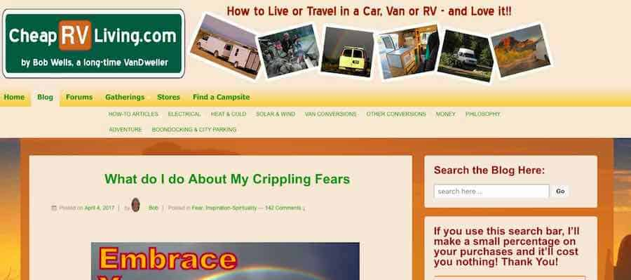 Cheap RV Living Blog