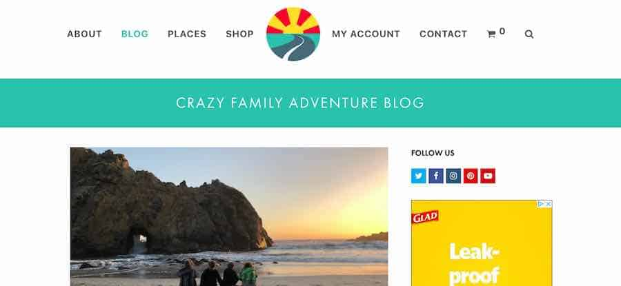 Crazy Family Adventure RV Blog