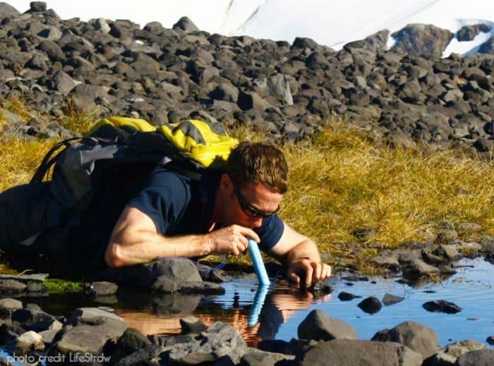 lifestraw water filter outdoor best coolest camping gear 2015 beyond the tent blog backpacker list