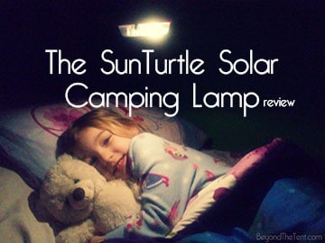 The SunTurtle Solar Camping Lamp 23
