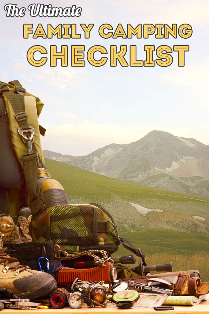 Ultimate Family Camping Checklist