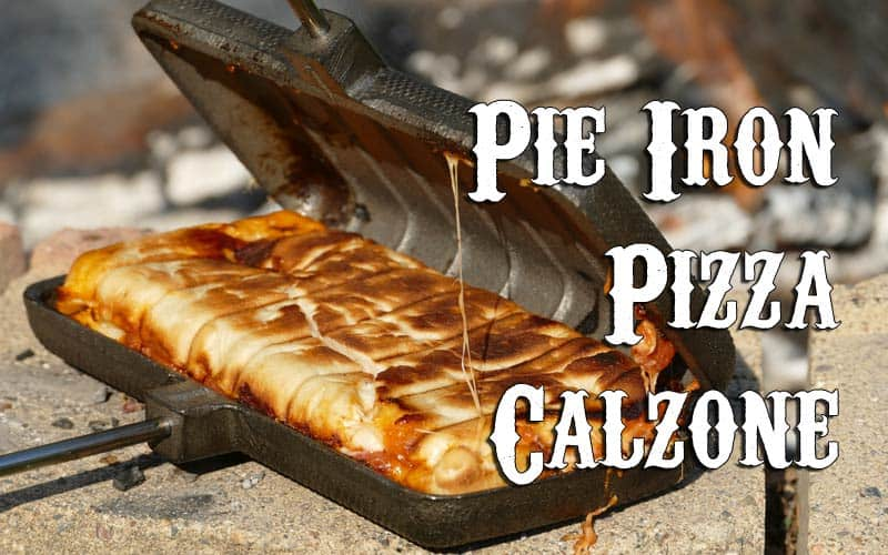 Pie Iron Pizza Calzone