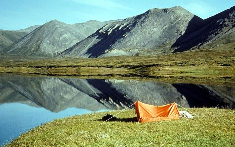 Camping in Brooks Range