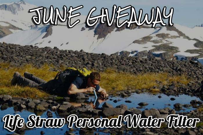 June Giveaway: Life Straw Personal Water Filter 2