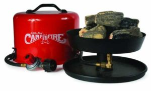 Portable Propane Campfire