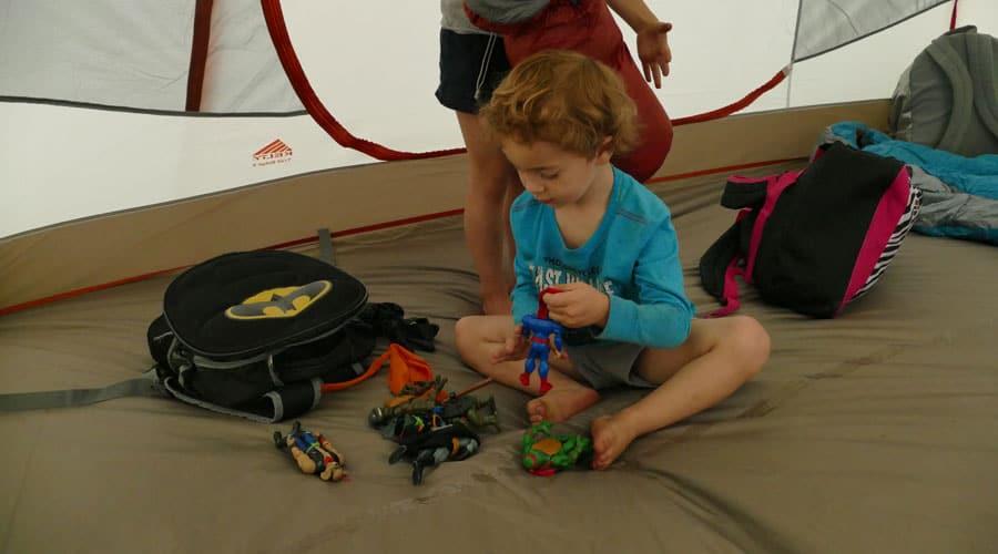 Preparing The Camping Gear