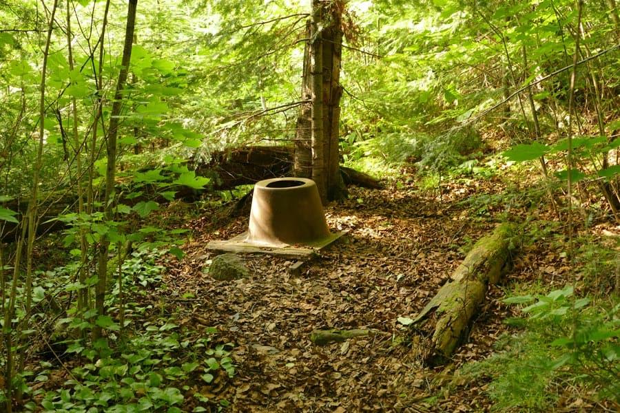 backcountry toilet vault