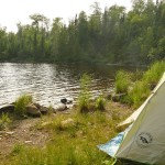 Our Big Agnes Blacktail 2 on Deer Lake