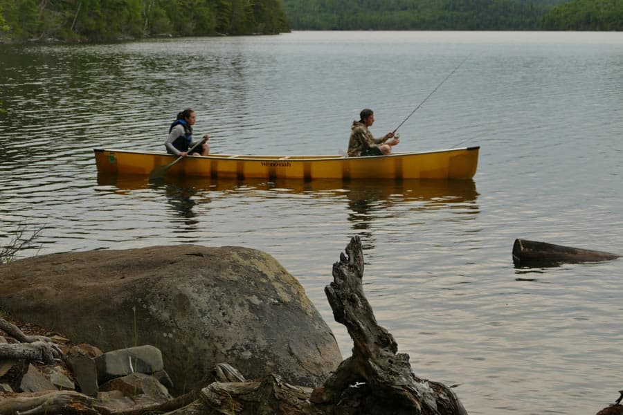 Bo Weber Fishing in the BWCA