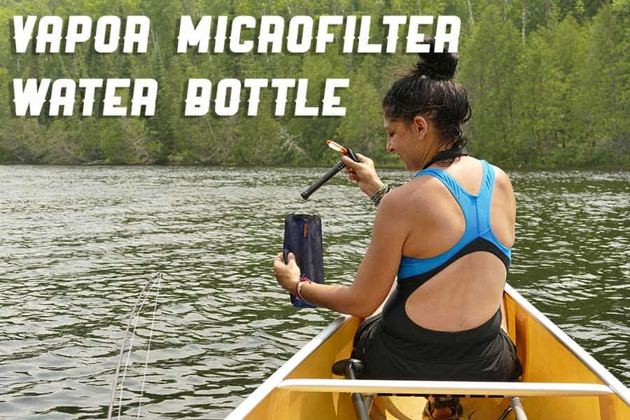 Vapor Microfilter Water Bottles – Clean Water in a Convenient Package