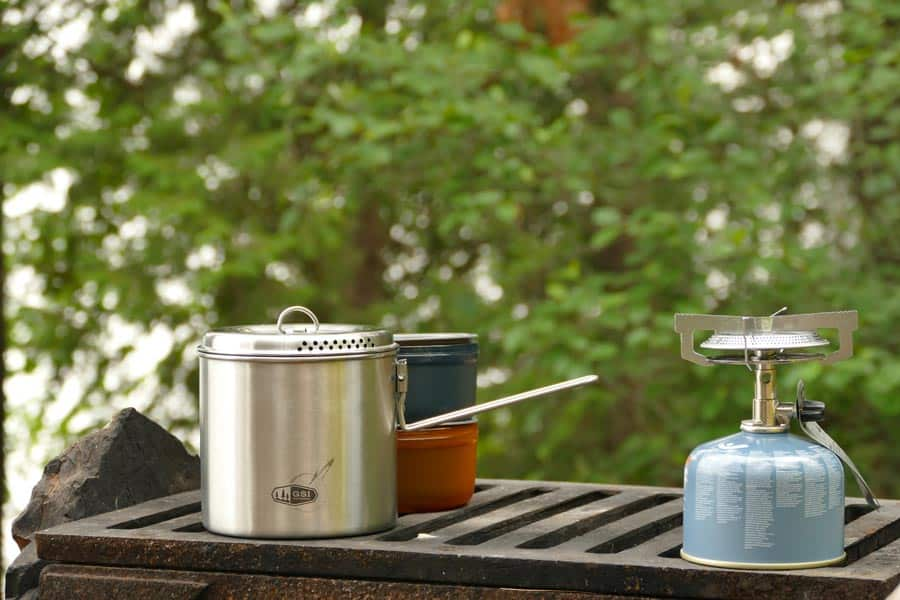 GSI Glacier Stainless Steel Dualist Cooking Set
