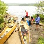 Portaging Into Pine Lake