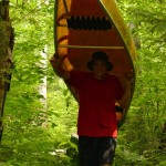 Portaging My Wenonah Canoe