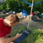 Using the Sunjack Solar Charger
