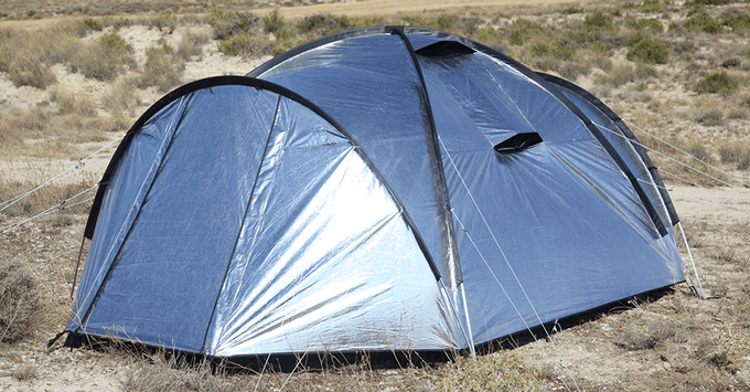 Siesta 4 Heat and Light Reflecting Tent