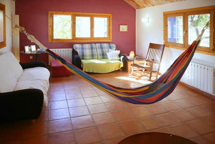 10 signs that you 39 re addicted to camping beyond the tent for Living room hammock
