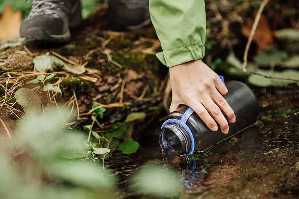 Lost in the woods? Don't get dehydrated
