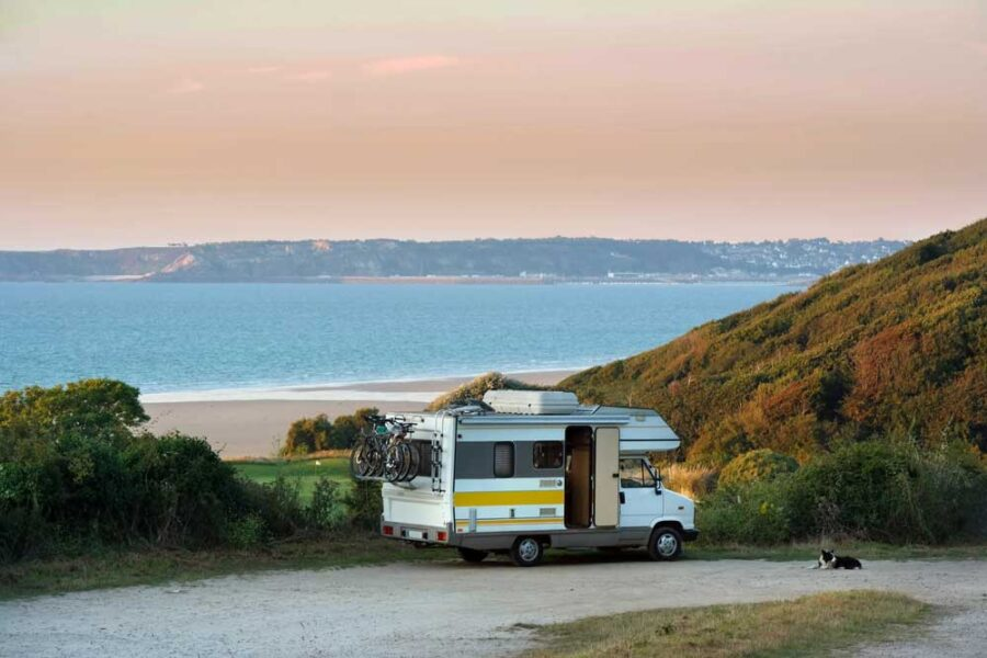 RV Camping Near Beach