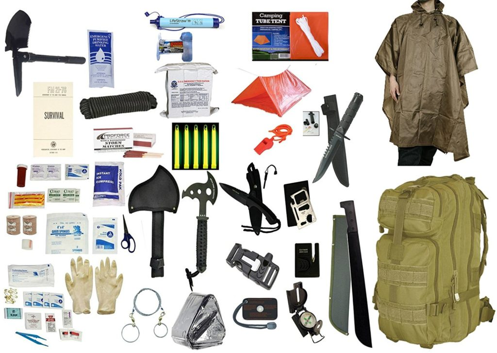 Camping Survival Kit - 2 Person 5 Day
