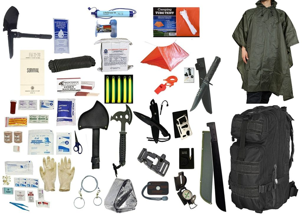 Camping Survival Kit - 4 Person 5 Day