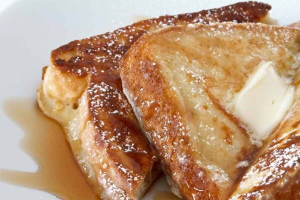 foil camping French toast