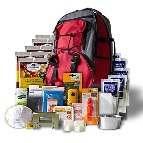 Camping Survival Kit - Reds 5 Day Survival Pack
