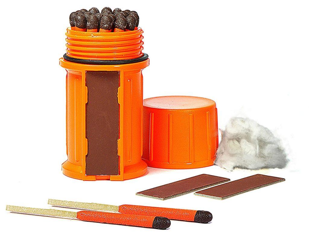Camping Survival Kit - Stormproof Match Kit