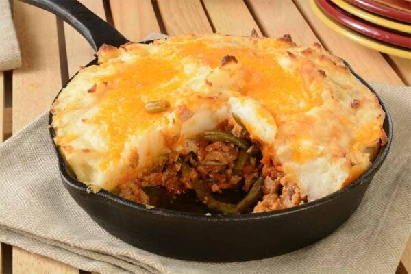 shepherds pie for camping