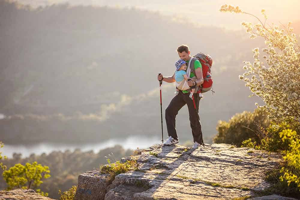 How to Get in Great Shape for Backpacking with a Baby 2