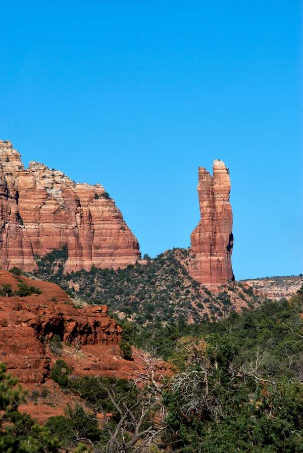 Coconino National Forest Rock formations